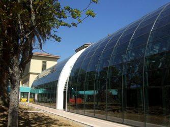 Facciata fotovoltaica in una scuola a Rovigo