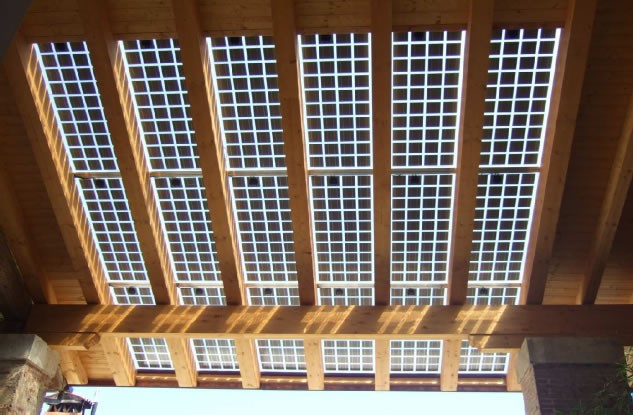 Integra - fotovoltaici con penetrazione luce