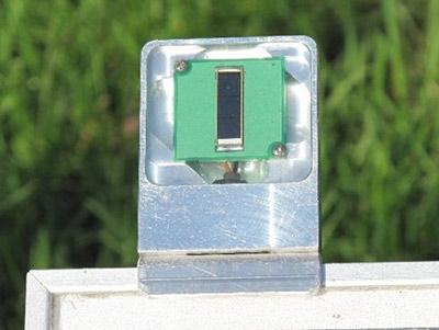 Sensore di irradianzaAnalogico - Litemeter Current, in azione