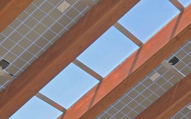 """Sistema """"Integra"""" per l'integrazione architettonica"""