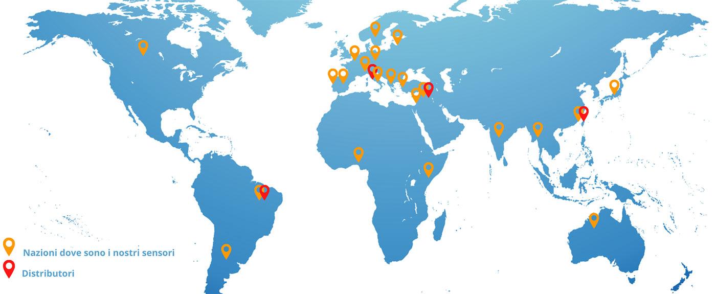 Mappa distributori Soluzione Solare